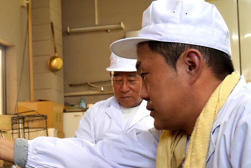 江面米菓親子
